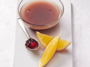 Portwein-Orangen-Dressing Rezept