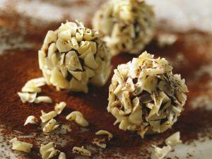 Pralinen mit weißer Schokolade Rezept