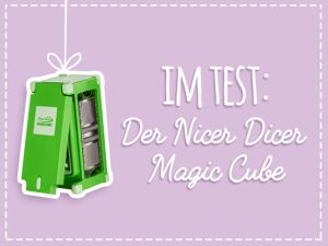 Nicer Dicer Test: Der Magic Cube