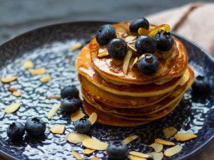 Protein-Pancakes mit Magerquark Rezept