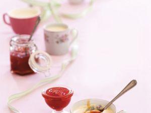 Pudding mit Marmelade Rezept