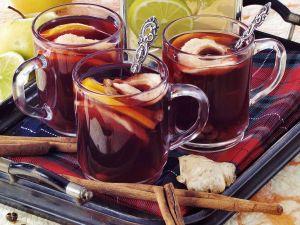 Punsch mit Rotwein Rezept