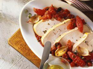 Putenbraten mit Tomaten Rezept