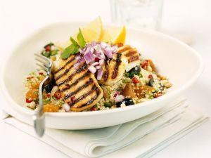 Putenbrust mit Couscous-Salat Rezept