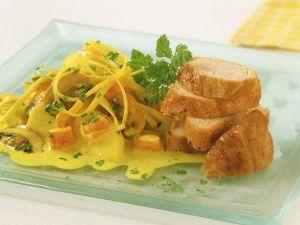 Putenbrust mit Curry-Gemüse Rezept