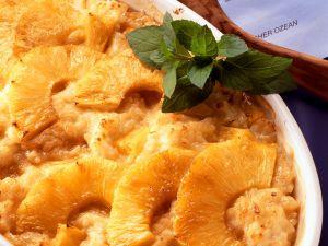Reisauflauf mit Ananas Rezept