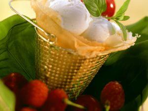 Quark-Vanille-Eis Rezept