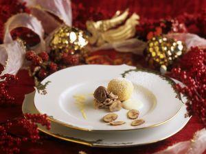 Quarkbällchen mit Maroni gefüllt Rezept