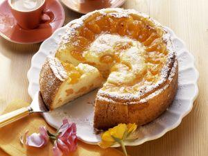 Quarkkuchen mit Mandarinen Rezept