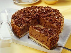 Quarkkuchen mit Nougat Rezept