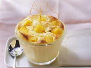 Quarksoufflé mit Mango Rezept