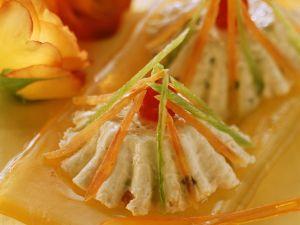Quarkspeise mit kandierten Früchten Rezept