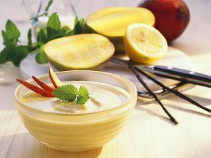 Quarkspeise mit Mango Rezept