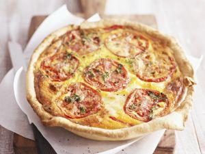 Quiche mit Tomate Rezept