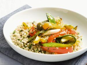 Quinoa mit Sommergemüse Rezept