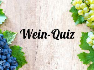 Das große Weinregionen Quiz