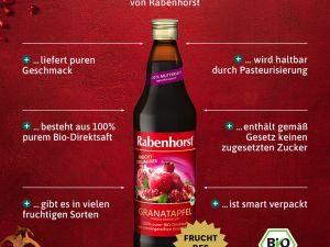 Granatapfel-Muttersaft