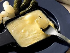 Raclette mit Mixed Pickles Rezept