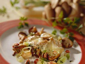 Raclette mit Pilzen und Speck Rezept