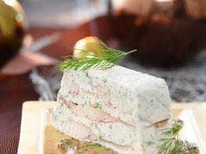 Räucherfisch-Frischkäseterrine Rezept