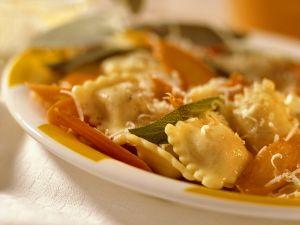 Ravioli mit Möhren Rezept