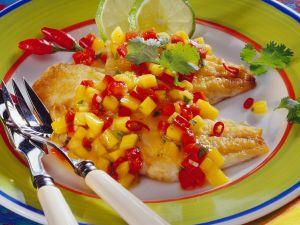 Red Snapper mit fruchtiger Salsa Rezept