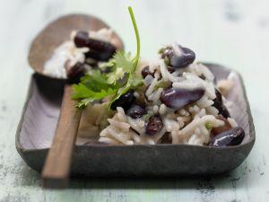 Reis mit Bohnen Rezept