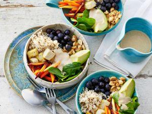Reis-Bowl mit Avocado Rezept