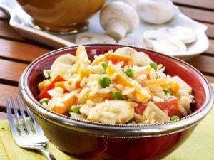 Reis-Gemüse-Pfanne Rezept
