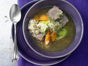 Reis-Gemüse-Suppe – smarter Rezept