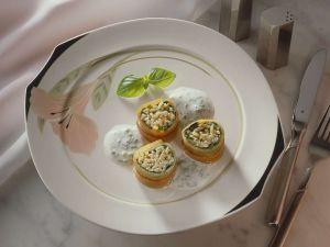 Reis-Gemüseröllchen Rezept