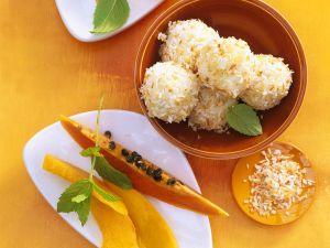 Reis-Kokosbällchen Rezept