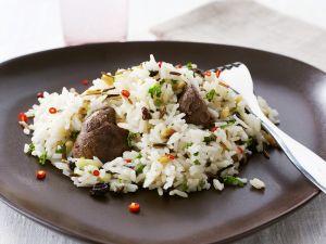 Reis mit Hähnchen Rezept
