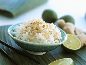 Reis mit Ingwer Rezept