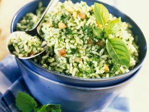 Reis mit Kräutern Rezept