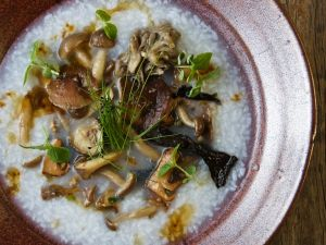 Reisbrei mit Pilzen Rezept