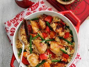 Reiseintopf mit Gemüse und Hühnchen Rezept