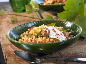 Reisfleisch auf serbische Art Rezept