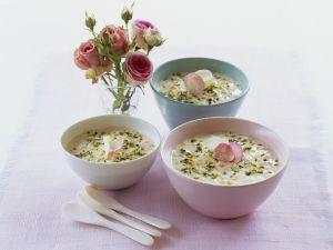 Reispudding nach marokkanischer Art mit Pistazien Rezept
