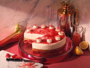 Rhabarber-Sahne-Torte Rezept