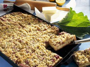 Rhabarber-Streusel-Kuchen Rezept