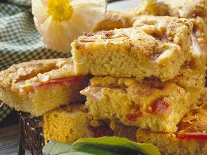 Rhabarberkuchen mit Anis Rezept