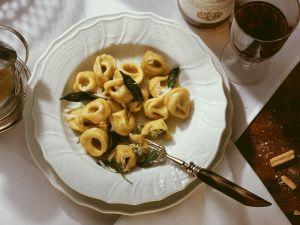 Ricotta-Spinat-Tortellini Rezept