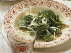 Ricotta-Spinatnocken Rezept