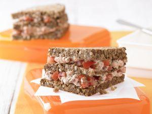 Ricotta-Tomaten-Sandwich Rezept