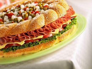Riesen-Sandwich Rezept