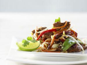 Rind mit Gemüse (Asien) Rezept