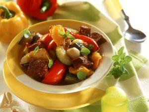 Rinder-Gemüsetopf Rezept