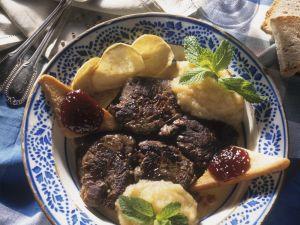Rinderfilet mit Kartoffelpüree Rezept