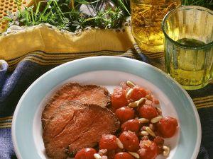 Rinderfilet mit Sauerkirschen Rezept